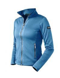 Equestrian Stockholm SS'21 Parisian Blue fleece vest