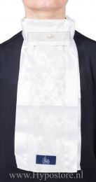 Nilette Plastron Lace zilver/parel