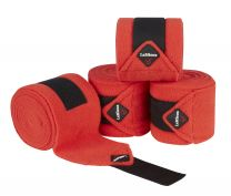 LeMieux Essential Polo bandages Coral Red