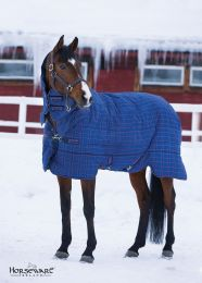 Rhino Stable All-In-One Heavy 400g Navy/ Light Purple Check