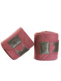 Equestrian Stockholm SS'20 Fleece bandages Rose Breeze