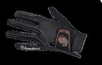 Samshield V-Skin Swarovski Handschoenen Zwart Rose Goud