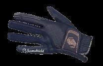 Samshield V-Skin Swarovski Handschoenen Navy Rose Goud