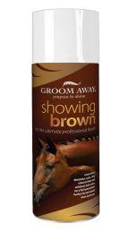 Groom Away Showing Brown 400ml