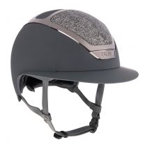 Kask Star Lady Swarovski Midnight Antraciet