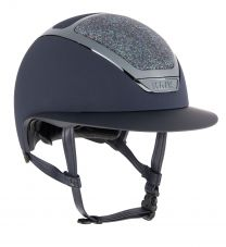 Kask Star Lady Swarovski Midnight Navy-Parsh