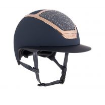 Kask Star Lady Swarovski on the Rocks Navy-Parsh