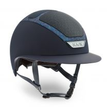 Kask Star Lady Swarovski Frame Navy-Parsh