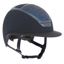 Kask Star Lady Swarovski Midnight Navy