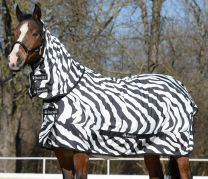 Bucas Sweet Itch Zebra Pony Eczeemdeken