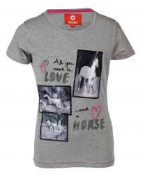 Red Horse T-shirt met print