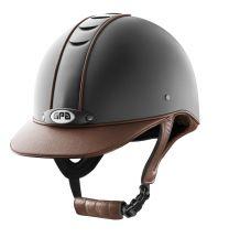 GPA Titium Leather Zwart met Chestnut
