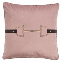 Adamsbro Velvet Snaffle Bit blush pink kussen