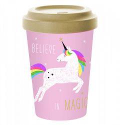 Pfiff Bamboo Believe in Magic reisbeker unicorn