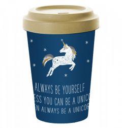 Pfiff Bamboo Always Unicorn reisbeker unicorn