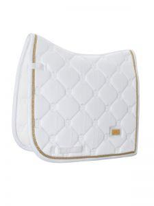 Equestrian Stockholm dressuur dekje White perfection Gold