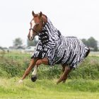 MASTER Zebra Vliegendeken met elastische hals