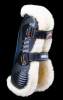 eQuick eShock peesbeschermers Fluffy met klittenband voor