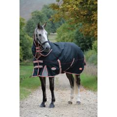 Weatherbeeta Comfitec Premier met Therapy-Tec Detach-A-Neck Lite Plus Black/Silver/Red