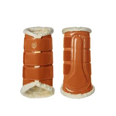 Equestrian Stockholm FW'21 Bronze Gold brushing boots