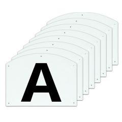 Dressuur Manege Letters 30x20cm