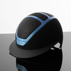 Kask Star Lady Painted Zwart Baby Blue