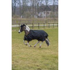 Bucas Irish Turnout Pony Light Zwart