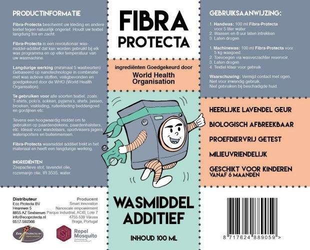 Afbeelding van Fibra Protecta wasmiddel 100ML