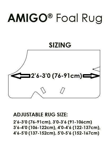 Size Foal Rug