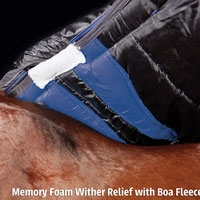 Weatherbeeta Ultra Cozi wither relieve pad with memory foam