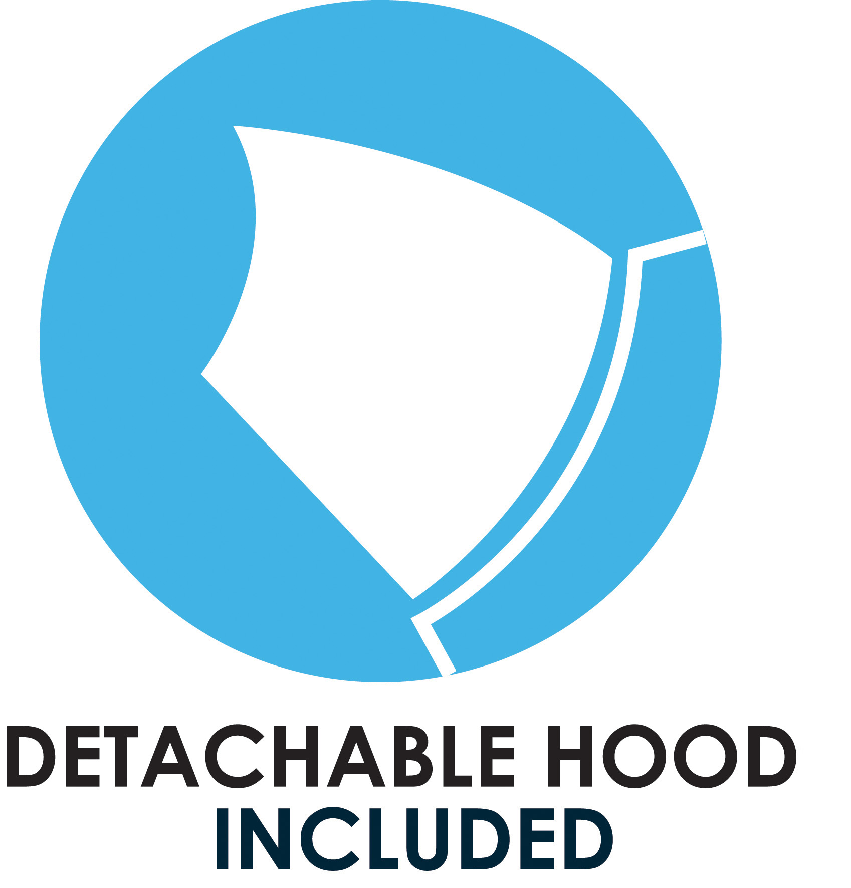 detachable hood