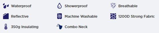 WeatherBeeta Thinsulate features