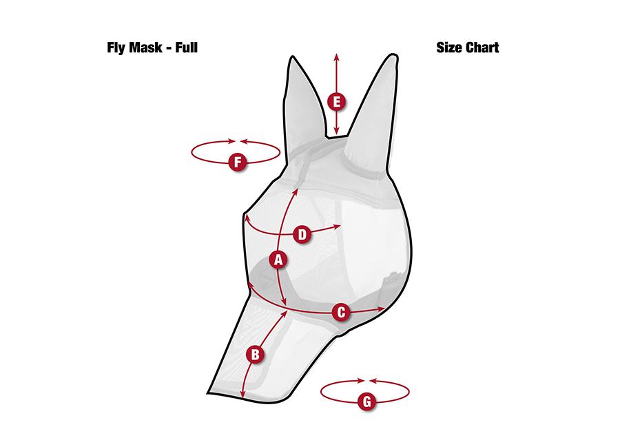 LeMieux comfort vliegenmasker